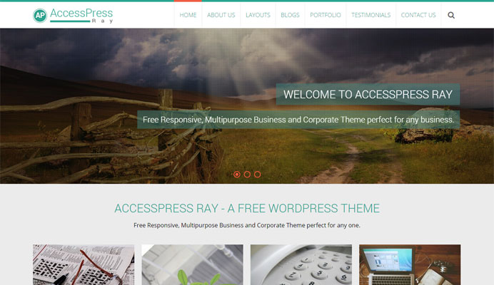 AccessPress-Ray